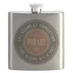 Pro Life Flask