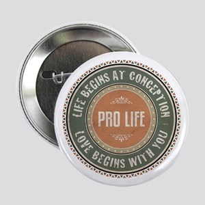 "Pro Life 2.25"" Button"