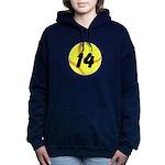 Custom Softball Women's Hooded Sweatshirt