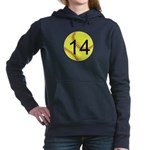Custom Softball Women's Hooded Sweatshirt