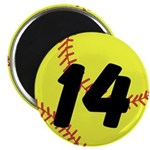 Custom Softball Magnets