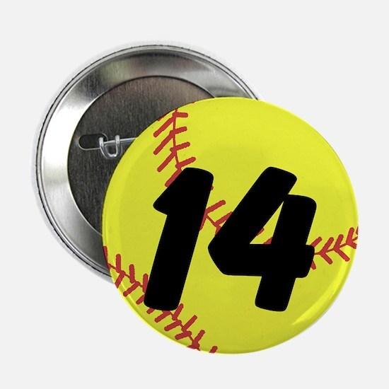 "Custom Softball 2.25"" Button"