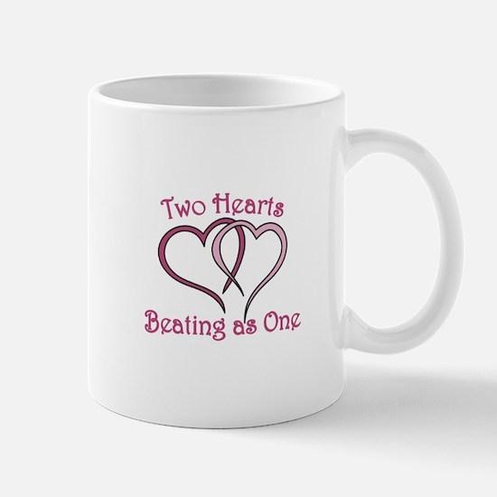 Two Hearts Mugs