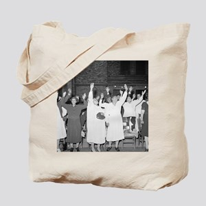 Praising the Lord, 1941 Tote Bag