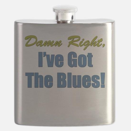 Ive Got The Blues Flask
