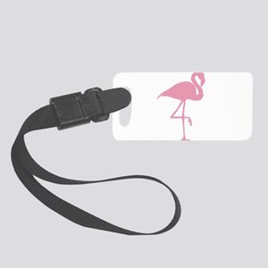 Pink Flamingo Small Luggage Tag