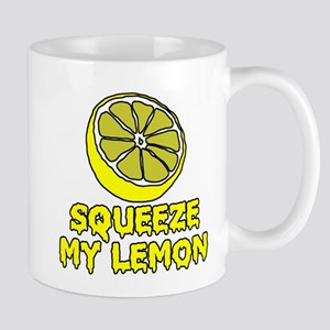 Squeeze My Lemon Mugs