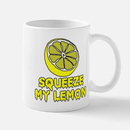 Squeeze My Lemon Mugs