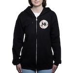 Custom Baseball Women's Zip Hoodie
