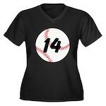 Custom Baseball Plus Size T-Shirt