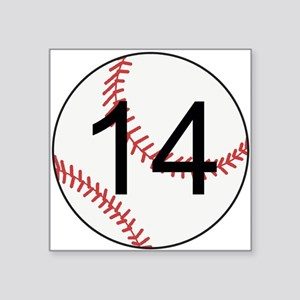 Custom Baseball Sticker