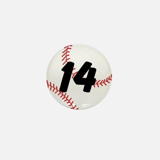 Custom Baseball Mini Button