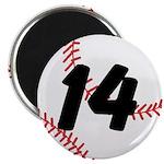 Custom Baseball Magnets