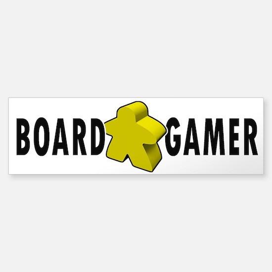 Board Gamer Yellow Bumper Bumper Bumper Sticker