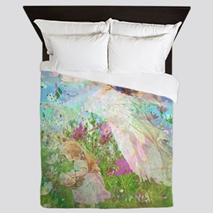 Flower Field Queen Duvet