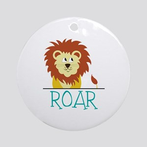 Roar Ornament (Round)