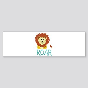 Roar Bumper Sticker