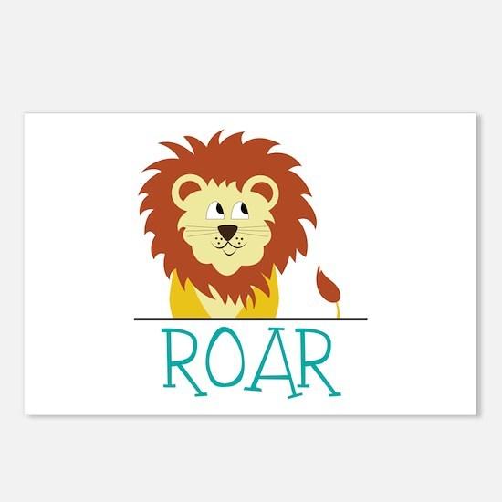 Roar Postcards (Package of 8)