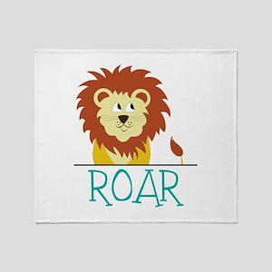 Roar Throw Blanket