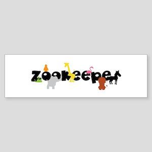 Zoo keeper Bumper Sticker