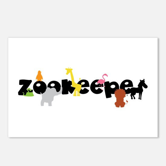 Zoo keeper Postcards (Package of 8)