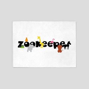 Zoo keeper 5'x7'Area Rug