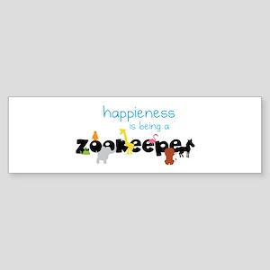 Happieness Bumper Sticker