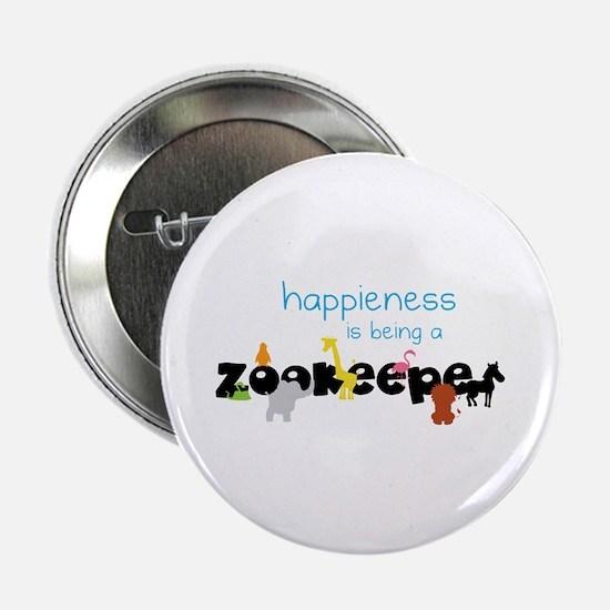 """Happieness 2.25"""" Button"""