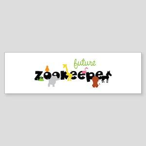Future zoo keeper Bumper Sticker
