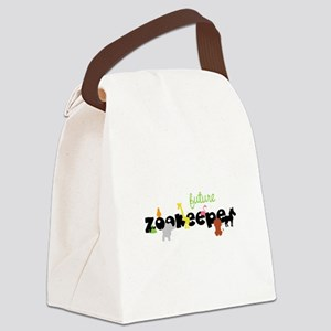 Future zoo keeper Canvas Lunch Bag