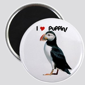 I Luv Puffins Magnet