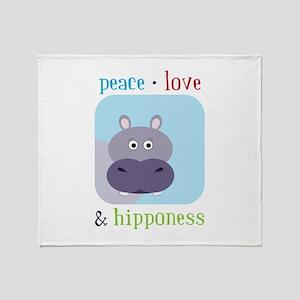 Hipponess Throw Blanket