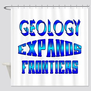 Geology Expands Frontiers Shower Curtain