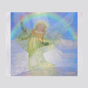 Guardian Angel Throw Blanket