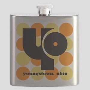 YO! Yellow/Orange Flask