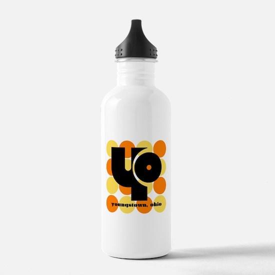 YO! Yellow/Orange Water Bottle