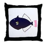 Pinktail Triggerfish aka Paletail Durgon Throw Pil