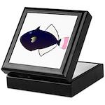 Pinktail Triggerfish aka Paletail Durgon Keepsake
