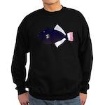 Pinktail Triggerfish aka Paletail Durgon c Sweatsh