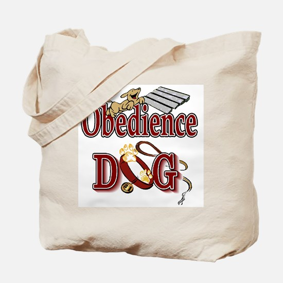 Obedience Dog Tote Bag