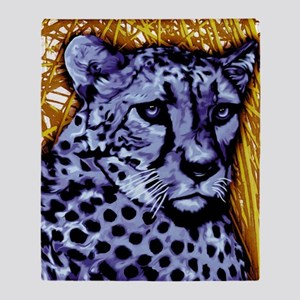 Cheetah artwork Throw Blanket