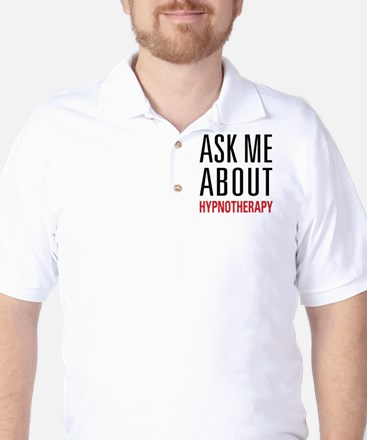 Hypnotherapy - Ask Me About - Golf Shirt