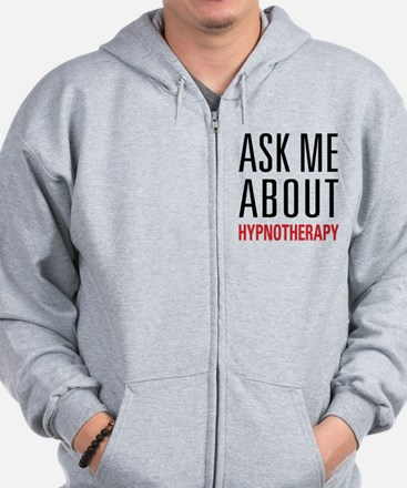 Hypnotherapy - Ask Me About - Zip Hoodie