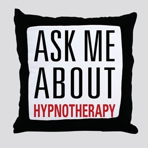 Hypnotherapy - Ask Me About - Throw Pillow