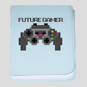 Future Gamer baby blanket