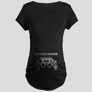 Future Gamer Maternity Dark T-Shirt