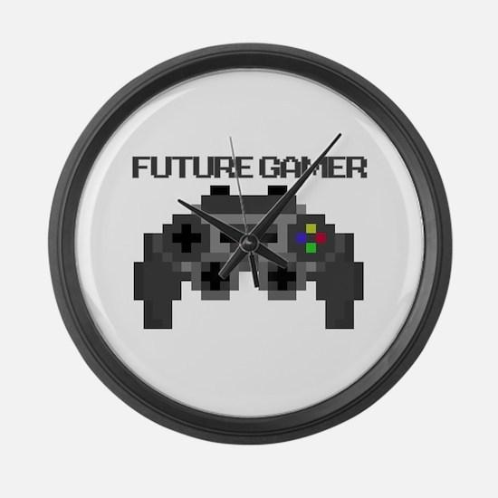 Future Gamer Large Wall Clock