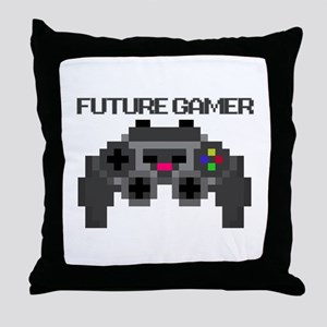 Future Gamer Throw Pillow