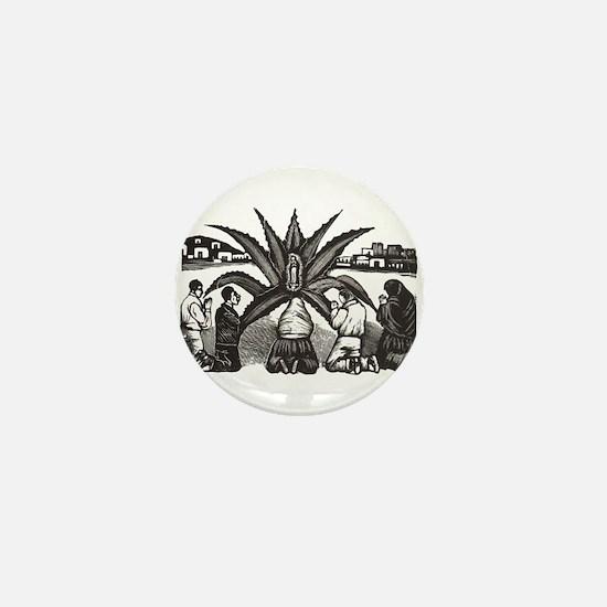 Posada - Milagro - Guadalupe Mini Button