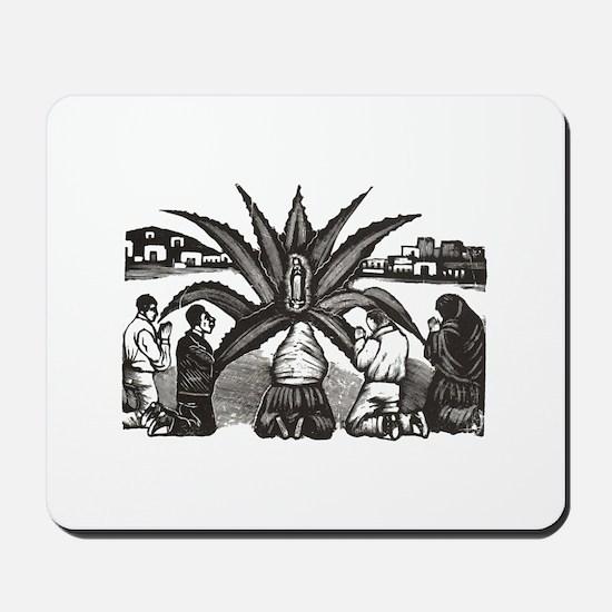 Posada - Milagro - Guadalupe Mousepad